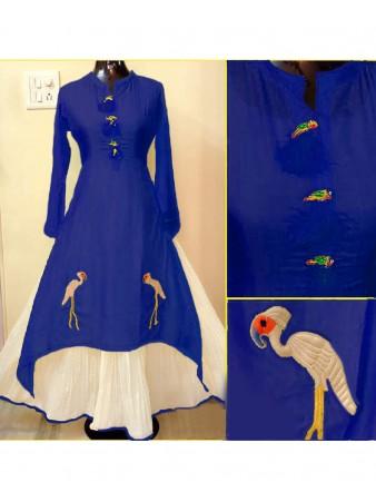 RE - Lovely Blue Designer Kurti